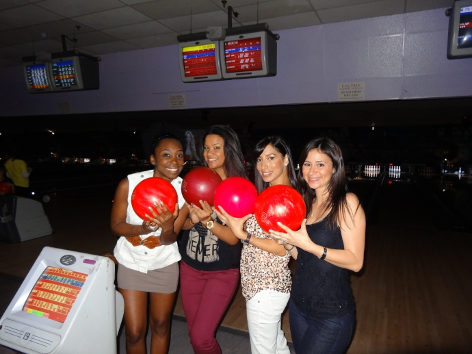 Went bowling for a friend's B'day